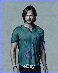 JARED PADALECKI signed Autogramm 20x25cm SUPERNATURAL in Person autograph SAM