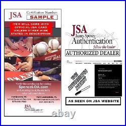 JEFFREY JONES Signed BEETLEJUICE 11x14 Photo In Person Autograph JSA COA Cert