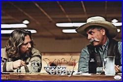 JEFF BRIDGES Signed THE BIG LEBOWSKI 11x16.5 Photo In Person Autograph JSA COA