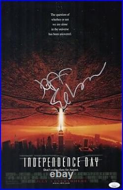 JEFF GOLDBLUM Signed INDEPENDENCE DAY 11X17 Photo In Person Autograph JSA COA