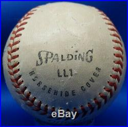 JSA Jackie Robinson Autographed Signed Inscribed Personalized Spalding Baseball