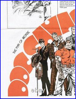 Jim Steranko COMIXSCENE #1+ Doc Savage issue AUTOGRAPHED, hand signed in person