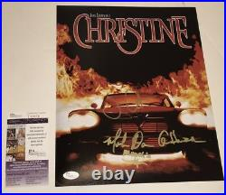 John Carpenter CHRISTINE Cast X3 Signed 11x14 Photo IN PERSON Autograph JSA COA