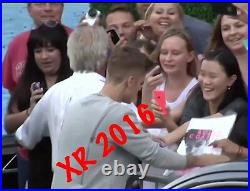Justin Bieber Signed Rolla Coaster Magazine Authentic In Person Autograph Rare