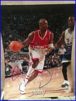 KOBE BRYANT SIGNED AUTOGRAPH 11x14 PHOTO LOS ANGELES LAKERS IN PERSON AUTO COA H