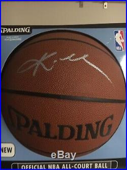 Kobe Bryant Signed In Person Nba I/O Basketball WithCOA Autograph Psa Jsa Lakers