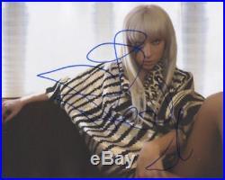 Lady Gaga In Person Signed Photo Singer/Actress RARE! RARE! B424