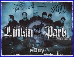 Linkin Park Chester Bennington + 3 Signed Photo Genuine In Person 2017 + COA