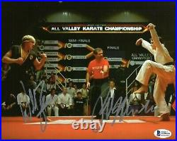 MACCHIO ZABKA signed Autogramm 20x25cm KARATE KID in Person autograph COBRA KAI