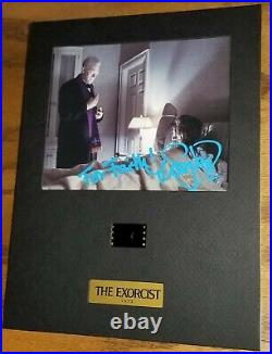 MAX VON SYDOW signed EXORCIST film cel numbered in person AUTOGRAPH proof photo