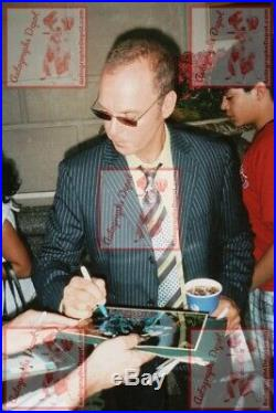 MICHAEL KEATON signed BEETLEJUICE photo REAL! OBTAINED IN-PERSON! PROOF