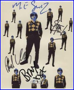 Mark E. Smith The Fall (Band) + Brix + 2 Signed Photo Genuine In Person