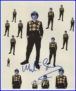 Mark E. Smith The Fall (Band) Signed 8 x 10 Photo Genuine In Person + COA