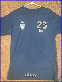 Maya Moore Autographed Minnesota Lynx Jersey #23 T Shirt WNBA Signed In Person