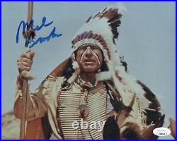 Mel Brooks Signed 8x10 BLAZING SADDLES Photo IN PERSON Autograph JSA COA Cert