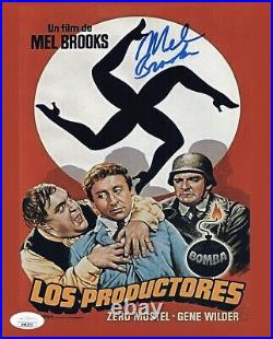 Mel Brooks Signed 8x10 THE PRODUCERS Photo IN PERSON Autograph JSA COA Cert