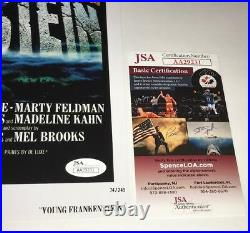 Mel Brooks YOUNG FRANKENSTEIN Signed 11x17 Photo JSA COA In Person Autograph