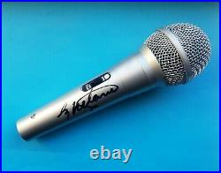 Melanie Chisholm, Mel C'Spice Girls', hand signed in person Microphone