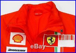 Michael Schumacher Signed Scuderia Ferrari F1 2007 Personal Softshell Jacket