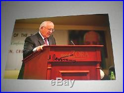Michail Gorbatschow signed signed autograph Autogramm auf 20x30 Foto in person