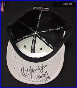 Monsta X Kihyun signed Cap (Personal Belongings) autographed KPOP Charity Bazaar
