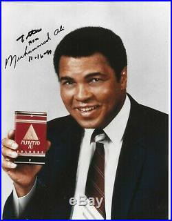 Muhammad Ali Signed Photo / Boxing Autographed IN PERSON 1999 Ali Cologne