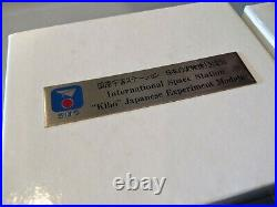 NASA Space Shuttle Astronaut Jerry Ross's Personal Signed ISS Japan Kibo Medal
