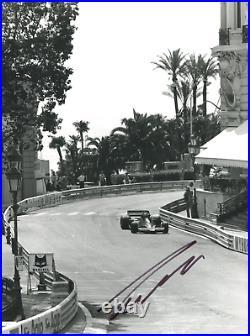 Niki Lauda (+) FORMULA ONE LEGEND MONACO 1978 autograph, In-Person signed photo