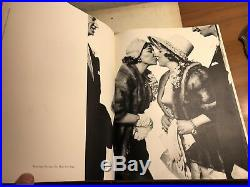 Nothing Personal Richard Avedon 1964 1st Ed Autographed Signed By Avedon RARE