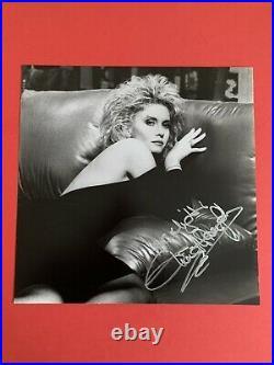 Olivia Newton-John Rare Stunning Helmut Newton Signed Soul Kiss 12 x 12 Portrait