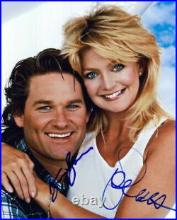 Overboard (Goldie Hawn & Kurt Russell) signed 8x10 photo in-person