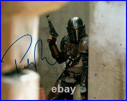 PEDRO PASCAL signed Autogramm 20x25cm MANDALORIAN in Person autograph STAR WARS