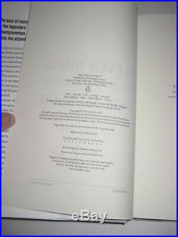 PHIL JACKSON Signed ELEVEN RINGS The Soul of Success Hardcover Book with PSA COA