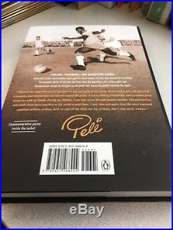 Pele Signed Book Soccer Star In Person Autograph Why Soccer Matters Sports