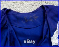 Personal LORETTA LYNN Signed STAGE WORN Ruffle Top with LL AUTOGRAPH & PSA/DNA COA