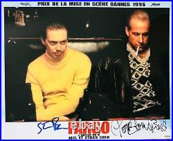 Peter Stormare & Steve Buscemi signed Fargo Original Lobby Card. In Person Proof