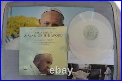 Pope Francis Hand Signed Autographed LP VINYL IN PERSON PROOF Rare! Vatican