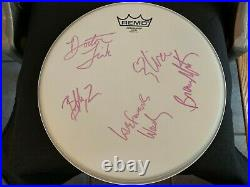 Prince And The Revolution Signed Autographed 14' Drumhead IN PERSON X5
