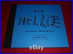 R. E. M. Signed Autograph Autogramm Michael Stipe REM In Person 2008