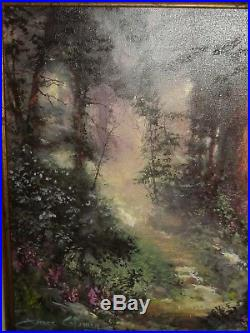 Rare James Coleman Alone in the Woods 15x30 signed and autographed 4/10 AP