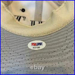 Rare Wilt Chamberlain Signed Personal Model Hat Cap With PSA DNA COA Lakers