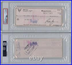 Redd Foxx SIGNED Personal Check Sanford and Son Comedian PSA/DNA AUTOGRAPHED