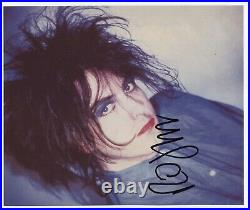 Robert Smith The Cure (Band) Signed Photo Genuine In Person + Hologram COA