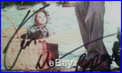 Robin Williams autographed POPEYE LP Shelley Duvall IN Person Photo proof signed