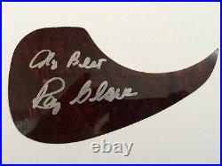 Roy Clark Signed Autographed In Person Acoustic Pickguard Guitar