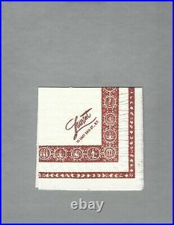 SALVADOR DALI Signed Napkin 1970s, Famed Spanish Artist, In Person Auto, JSA LOA