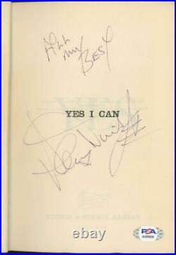 SAMMY DAVIS JR. Signed Yes I Can book NOT PERSONALIZED! PSA/DNA autograph