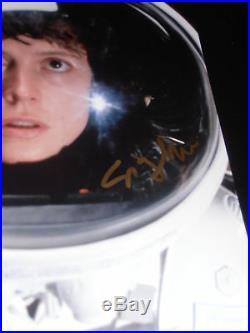 SIGOURNEY WEAVER SIGNED AUTOGRAPH 8x10 PHOTO ALIENS SPACESUIT IN PERSON AUTO D