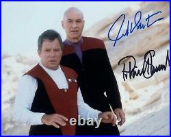 STEWART SHATNER signed Autogramm 20x25cm STAR TREK in Person autograph COA