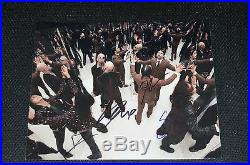 SYSTEM OF A DOWN signed autograph In Person 8x10 20x25 cm full band